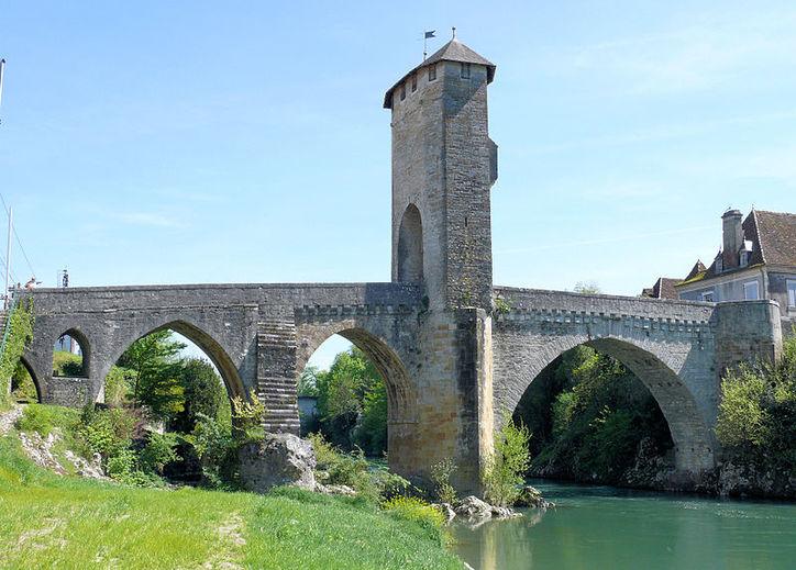 Pont Vieux d'Orthez, Nouvelle-Aquitaine, France