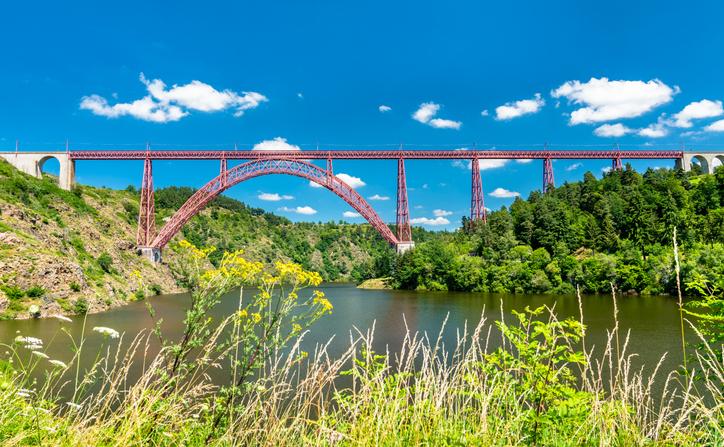 Viaduc de Garabit, Auvergne-Rhône-Alpes, France