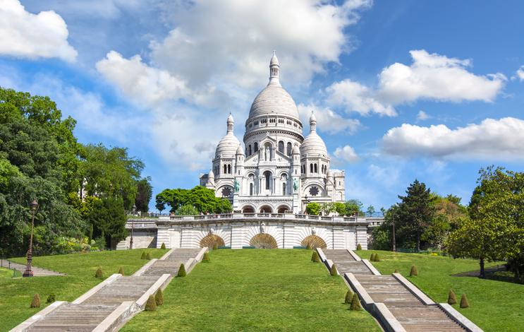 Basilique du Sacré-Cœur, Paris, Île-de-France, France