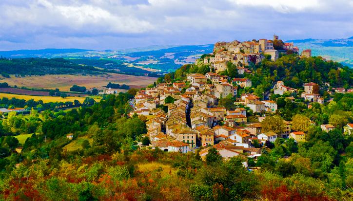 Cordes-sur-Ciel, Occitanie, France