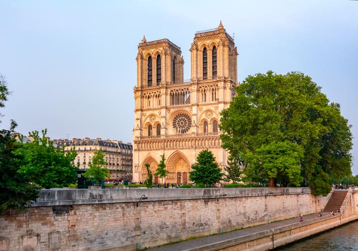 Cathédrale Notre-Dame de Paris, Île-de-France, France