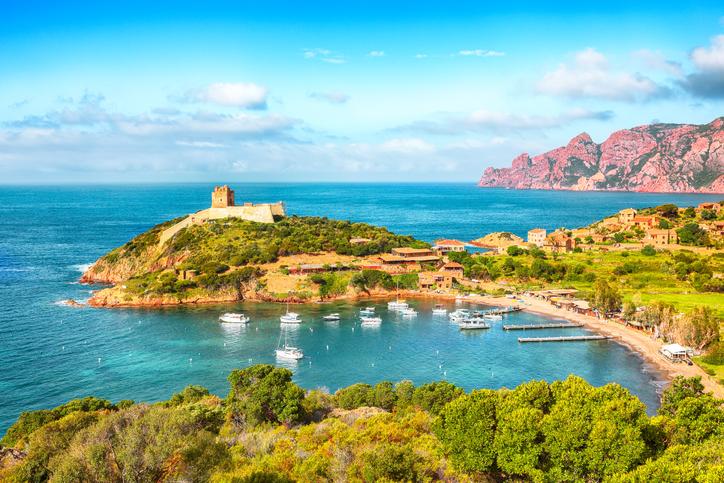Réserve naturelle de Scandola, Corse, France