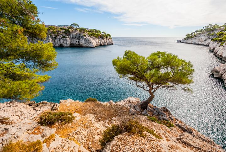 Parc national des Calanques à Marseille, Provence-Alpes-Côtes-d'Azur, France