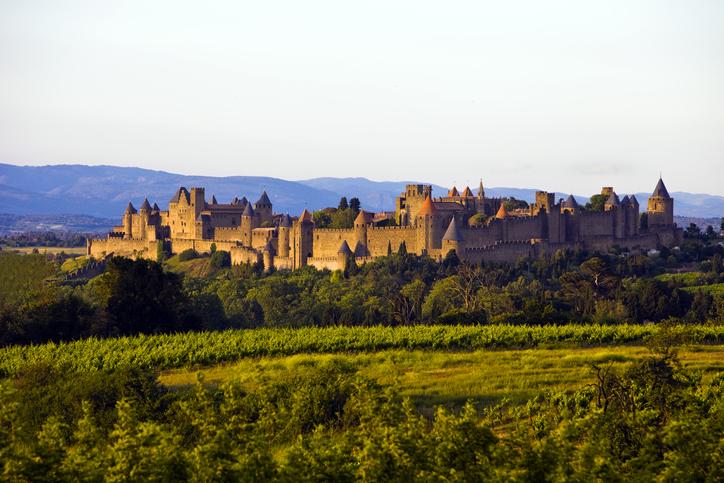 Cité médiévale de Carcassonne, Occitanie, France