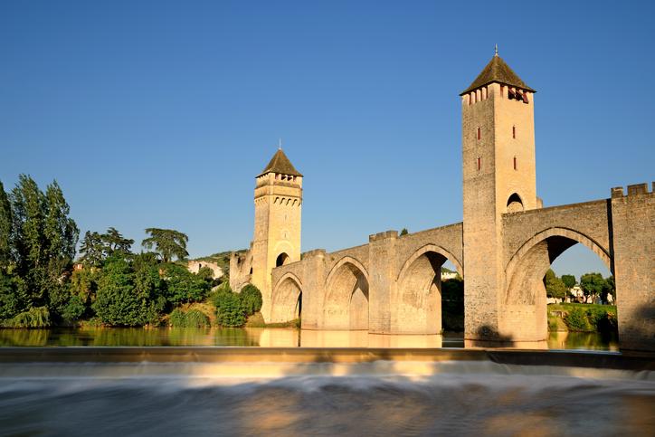 Pont Valentré, Cahors, Occitanie, France