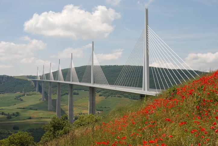 Viaduc de Millau, Occitanie, France