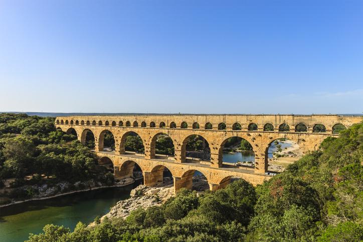 Pont du Gard, Occitanie, France