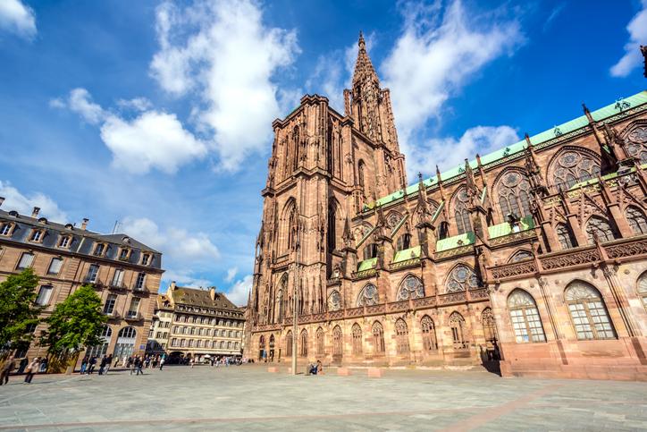 Cathédrale Notre-Dame de Strasbourg, Grand-Est, France
