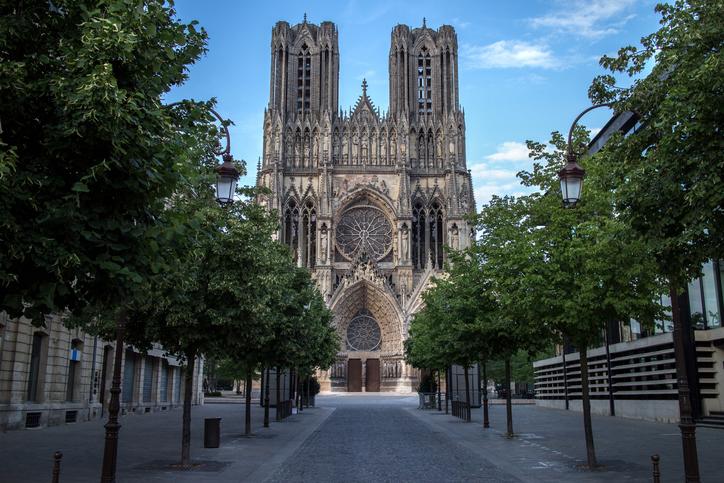 Cathédrale Notre-Dame de Reims, Grand-Est, France