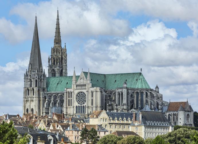 Cathédrale Notre-Dame de Chartres, Centre-Val de Loire, France
