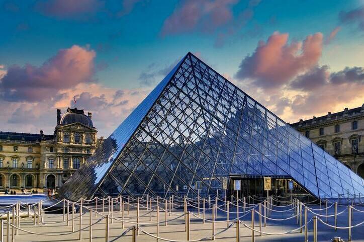 Musée du Louvre, Paris, Île-de-France, France