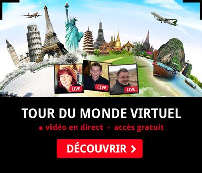 Conférences Virtuelles Gratuites - Tour du Monde